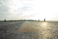 Δρόμος, φύση, μεταφορά Στοκ Εικόνα