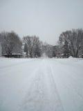 Δρόμος χιονιού Στοκ εικόνα με δικαίωμα ελεύθερης χρήσης