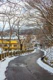 Δρόμος, χιόνι, δέντρο, Στοκ φωτογραφία με δικαίωμα ελεύθερης χρήσης