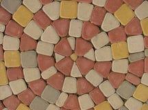 δρόμος χρώματος κυβόλινθων Στοκ εικόνες με δικαίωμα ελεύθερης χρήσης