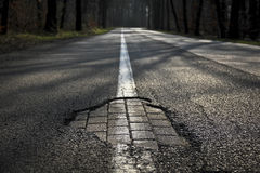 Δρόμος Στοκ Φωτογραφία