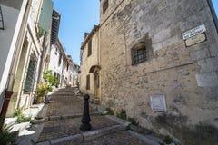 Δρόμος Arles Στοκ φωτογραφία με δικαίωμα ελεύθερης χρήσης