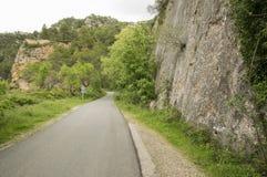 Δρόμος Beceite Στοκ εικόνες με δικαίωμα ελεύθερης χρήσης