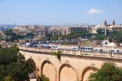 Δρόμος Cassar Girolamo, Valletta, Μάλτα Στοκ Φωτογραφίες