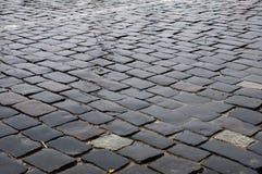 Δρόμος Cobbled Στοκ φωτογραφία με δικαίωμα ελεύθερης χρήσης
