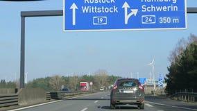 Δρόμος Dreieck Wittstock ανταλλαγής από A24 A19 στη Γερμανία Βερολίνο Schwerin φιλμ μικρού μήκους