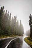 Δρόμος Moutain Στοκ φωτογραφία με δικαίωμα ελεύθερης χρήσης