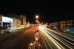 Δρόμος Rojana Στοκ εικόνα με δικαίωμα ελεύθερης χρήσης