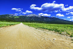 Δρόμος Sangre de Cristo στα βουνά Στοκ Εικόνες