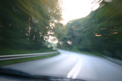 δρόμος sppedy Στοκ φωτογραφία με δικαίωμα ελεύθερης χρήσης