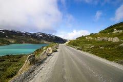 Δρόμος Strynefjellet στη Νορβηγία Στοκ Φωτογραφίες