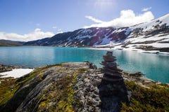 Δρόμος Strynefjellet στη Νορβηγία Στοκ εικόνα με δικαίωμα ελεύθερης χρήσης