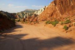 δρόμος Utah νομών φαραγγιών cottonwood kane Στοκ φωτογραφία με δικαίωμα ελεύθερης χρήσης