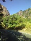 Δρόμος wellawaya ella Rawanaella στοκ φωτογραφία με δικαίωμα ελεύθερης χρήσης