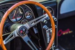 1966 δρόμωνας Στινγκ Ray Chevrolet Στοκ Εικόνες