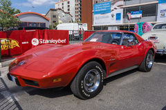 Δρόμωνας Stingray 1973 Chevrolet Στοκ φωτογραφίες με δικαίωμα ελεύθερης χρήσης