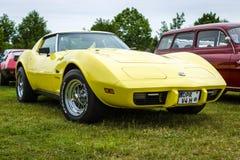Δρόμωνας Stingray Coupe, 1976 Chevrolet αθλητικών αυτοκινήτων Στοκ Εικόνες