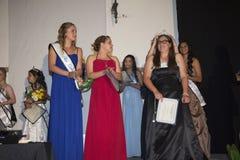 Δρύινη άποψη, Καλιφόρνια, ΗΠΑ, στις 7 Μαρτίου 2015, η Δεσποινίς Oak View Pageant της τελειότητας, εφηβικός διαγωνισμός ομορφιάς Στοκ Φωτογραφία