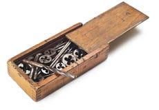 Δυαδικά ψηφία και εργαλεία τρυπανιών Στοκ φωτογραφίες με δικαίωμα ελεύθερης χρήσης