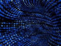 δυαδική μπλε σήραγγα Στοκ Εικόνες