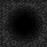 Δυαδική σύσταση αριθμών Στοκ εικόνα με δικαίωμα ελεύθερης χρήσης