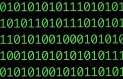 δυαδικοί αριθμοί Στοκ εικόνα με δικαίωμα ελεύθερης χρήσης