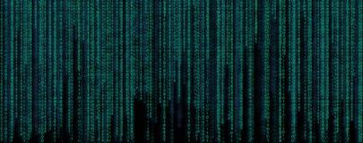δυαδικός κώδικας εμβλημάτων Τα στοιχεία και η τεχνολογία, αποκρυπτογράφηση και κρυπτογραφούν απεικόνιση αποθεμάτων