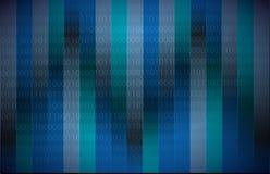 Δυαδικός κώδικας σκούρο μπλε Στοκ Φωτογραφία