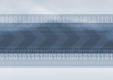 δυαδικός κώδικας Στοκ εικόνα με δικαίωμα ελεύθερης χρήσης