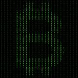 Δυαδικός κώδικας blockchain Αλγόριθμος τεχνολογίας στην αποκρυπτογράφηση και την κρυπτογράφηση ελεύθερη απεικόνιση δικαιώματος