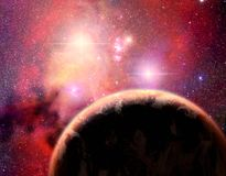 δυαδικό σύστημα αστεριών &pi ελεύθερη απεικόνιση δικαιώματος