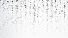 Δυαδική ανασκόπηση Στοιχεία και τεχνολογία, αποκρυπτογράφηση και κρυπτογράφηση Αριθμοί 1.0 υποβάθρου υπολογιστών επίσης corel σύρ διανυσματική απεικόνιση