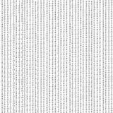 Δυαδικό αλγορίθμου, κώδικας στοιχείων, αποκρυπτογράφηση και διανυσματική απεικόνιση