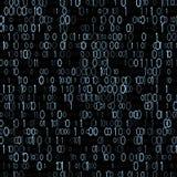 Δυαδικό συγκρότημα ηλεκτρονικών υπολογιστών Αριθμητική υπολογιστών Η ελάχιστη μονάδα των πληροφοριών διάνυσμα Στοκ Εικόνες
