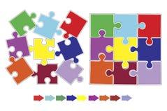 Δυναμική ομάδας και χτίσιμο ομάδας διανυσματική απεικόνιση