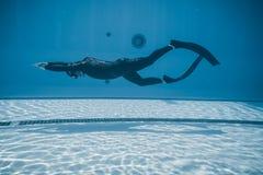 Δυναμικός με την απόδοση πτερυγίων (DYN) από υποβρύχιο στοκ φωτογραφία με δικαίωμα ελεύθερης χρήσης