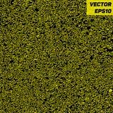 Δυναμικό κίτρινο και μαύρο αφηρημένο υπόβαθρο με τη χαοτική σύσταση μορφών Διανυσματική απεικόνιση EPS10 Στοκ Εικόνες