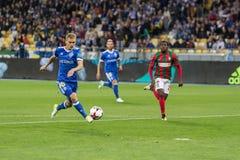Δυναμό Kyiv †«Maritimo, Augu αγώνων ποδοσφαίρου ένωσης UEFA Ευρώπη Στοκ Εικόνα