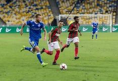 Δυναμό Kyiv †«Maritimo, Augu αγώνων ποδοσφαίρου ένωσης UEFA Ευρώπη Στοκ Εικόνες