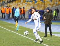 Δυναμό Kyiv β παιχνιδιών FC UEFA Champions League Besiktas Στοκ Εικόνα