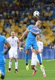 Δυναμό Kyiv παιχνιδιών FC UEFA Champions League εναντίον Napoli Στοκ Φωτογραφία