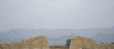 Δυναστεία Castle Xixia Στοκ φωτογραφία με δικαίωμα ελεύθερης χρήσης