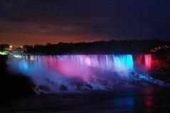 Δυνατοί φωτισμοί, Niagara στοκ φωτογραφίες με δικαίωμα ελεύθερης χρήσης