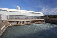 δυνατότητα υδροηλεκτρ&iota Στοκ εικόνα με δικαίωμα ελεύθερης χρήσης