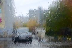 Δυσμενείς συνθήκες οδήγησης στοκ φωτογραφίες
