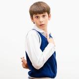 Δυσνόητο αγόρι στοκ φωτογραφία με δικαίωμα ελεύθερης χρήσης