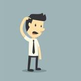 Δυστυχισμένος επιχειρηματίας ελεύθερη απεικόνιση δικαιώματος
