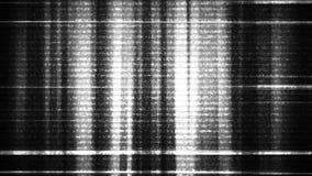 Δυσλειτουργία 3 θορύβου TV υπόβαθρο Loopable mov ελεύθερη απεικόνιση δικαιώματος