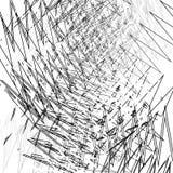 Δυσλειτουργία, σύσταση θορύβου Ανώμαλο τυχαίο χαοτικό tex γραμμών τρεκλίσματος διανυσματική απεικόνιση
