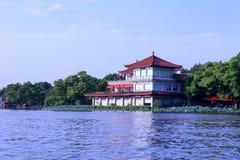 Δυτική λίμνη σε Hangzhou Στοκ εικόνα με δικαίωμα ελεύθερης χρήσης